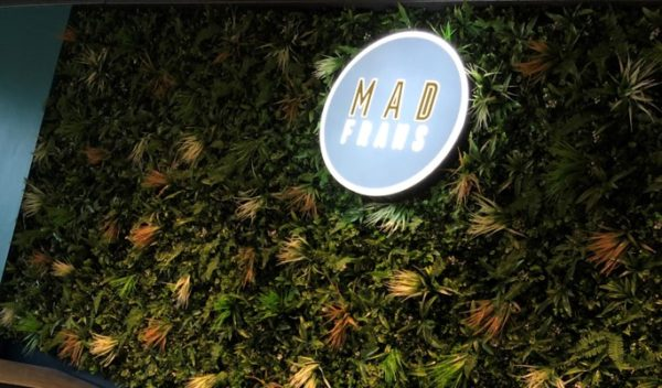Mad Frans NOW OPEN
